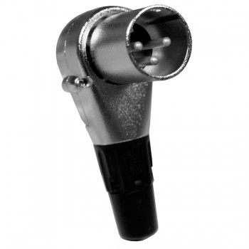 AC-C-XM-90 90° XLR Stecker male