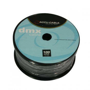 AC-DMX3/100R DMX cable on Roll 3 cond