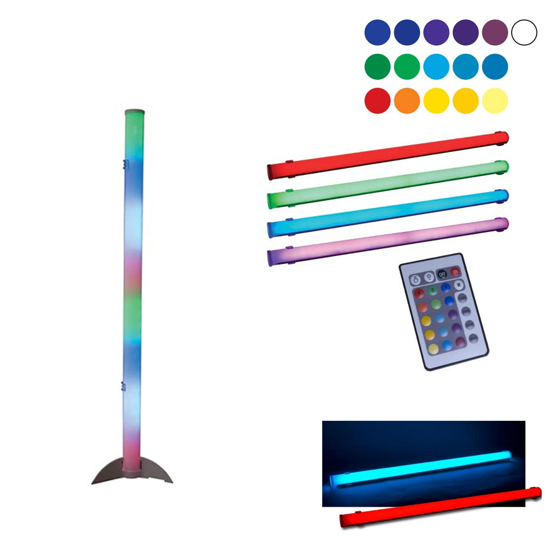 Led Color Tube Ii Party Effects Light Effects