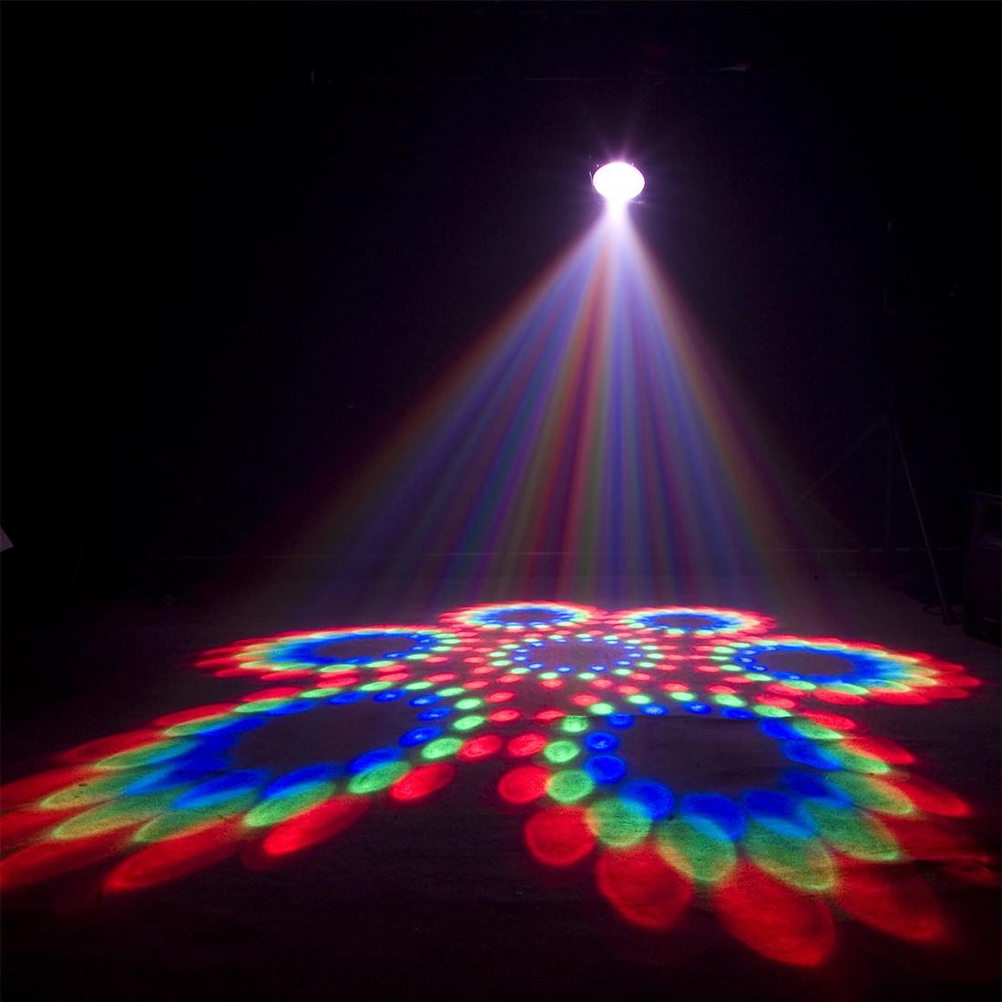 Как сделать разноцветный свет