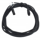 7PZ IP XLR 3pin ext cable 7,0m IP 65 STR